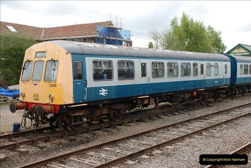 2010-05-07 Norwich, The Mid Norfolk Railway & The Whitwell & Reepham Railway.   (46)665