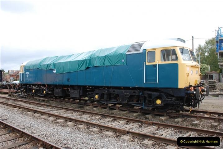 2010-05-07 Norwich, The Mid Norfolk Railway & The Whitwell & Reepham Railway.   (47)666