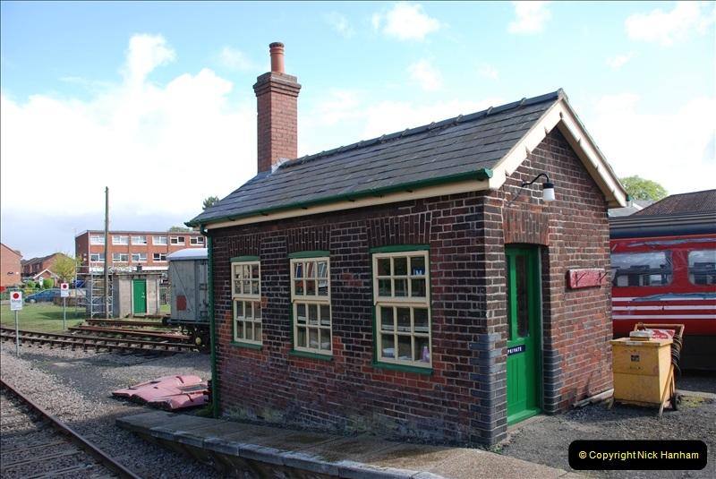 2010-05-07 Norwich, The Mid Norfolk Railway & The Whitwell & Reepham Railway.   (57)676