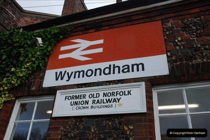 2010-05-07 Norwich, The Mid Norfolk Railway & The Whitwell & Reepham Railway.   (9)628