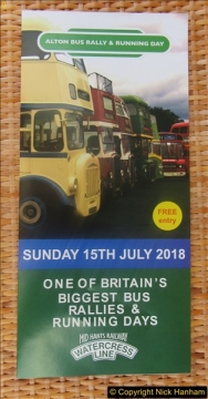 The Alton Bus Rally 15 July 2018