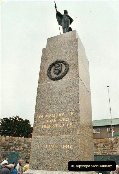2002-12-29. 20 Years since the Falklands War.  (4)04