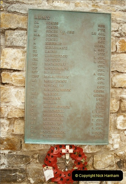 2002-12-29. 20 Years since the Falklands War.  (6)06