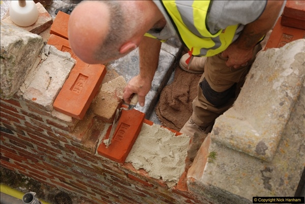 2017-07-05 The Vyne NT. Roof repairs.  (17)017