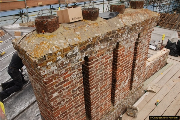 2017-07-05 The Vyne NT. Roof repairs.  (21)021