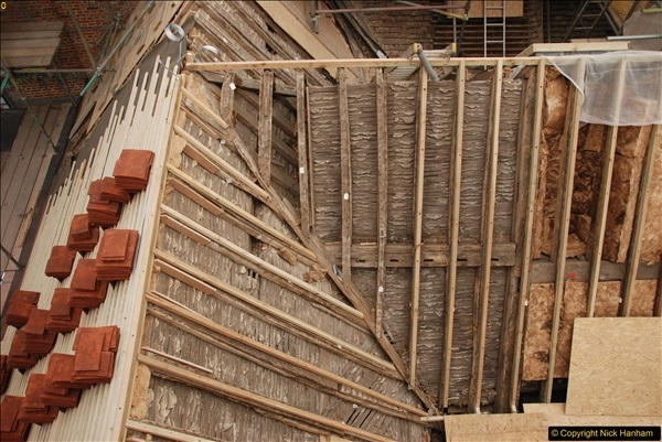 2017-07-05 The Vyne NT. Roof repairs.  (31)031