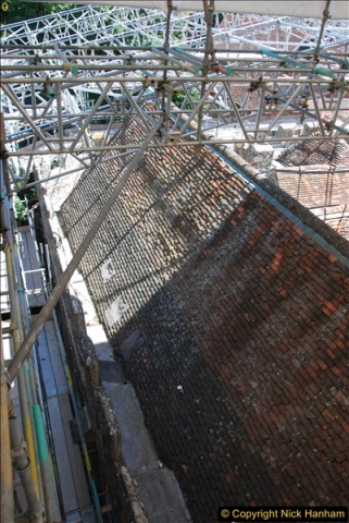 2017-07-05 The Vyne NT. Roof repairs.  (54)054