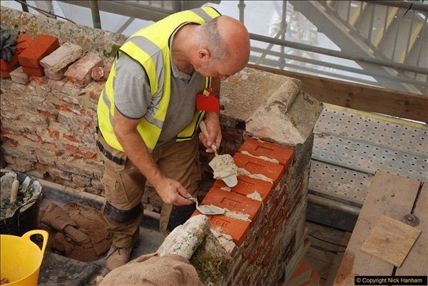 2017-07-05 The Vyne NT. Roof repairs.  (82)082