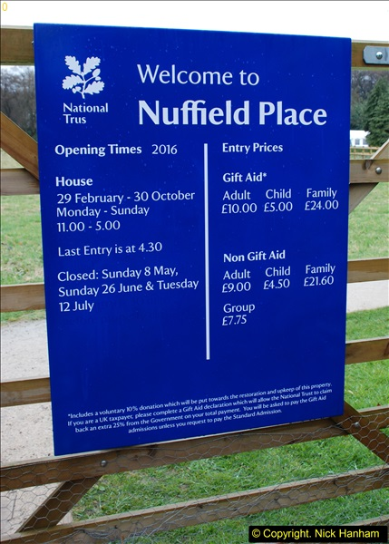 2016-04-15 National Trust property Nuffield Place, Oxfordshire.  (1)196