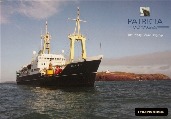 2018-08-14 to 22 Trinity House Vessel Patricia Harwich to Weymouth.  (105)105