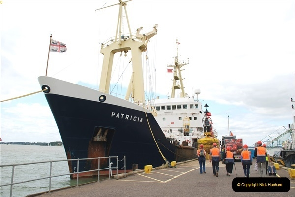 2018-08-14 to 22 Trinity House Vessel Patricia Harwich to Weymouth.  (108)108
