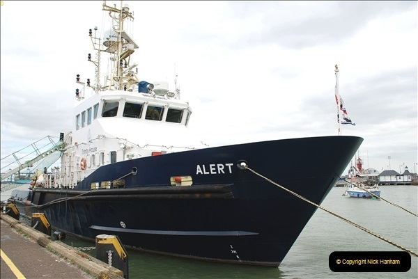 2018-08-14 to 22 Trinity House Vessel Patricia Harwich to Weymouth.  (109)109