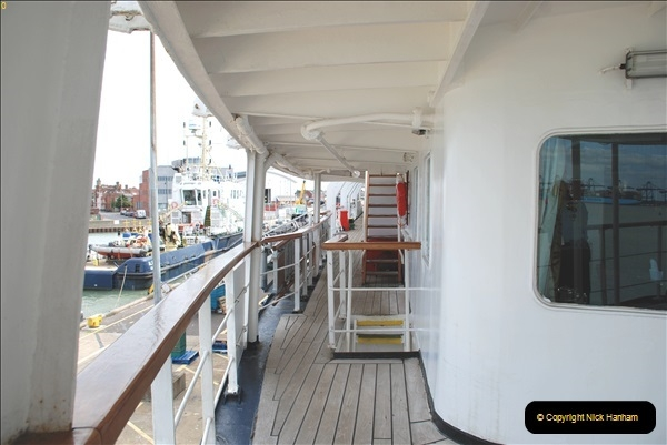 2018-08-14 to 22 Trinity House Vessel Patricia Harwich to Weymouth.  (124)124
