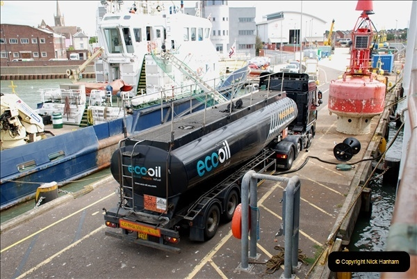 2018-08-14 to 22 Trinity House Vessel Patricia Harwich to Weymouth.  (128)128