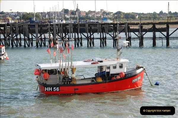 2018-08-14 to 22 Trinity House Vessel Patricia Harwich to Weymouth.  (140)140