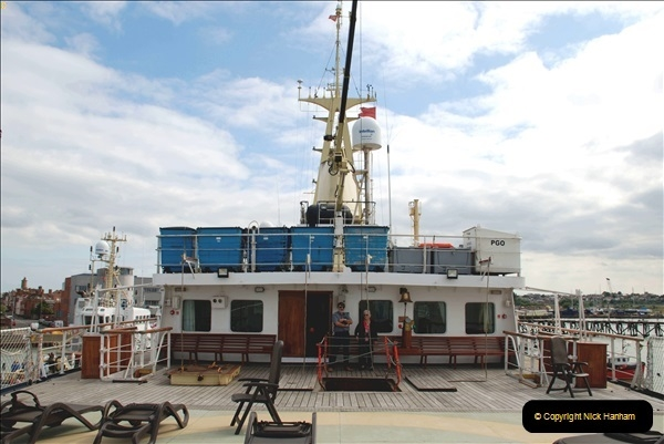 2018-08-14 to 22 Trinity House Vessel Patricia Harwich to Weymouth.  (192)192