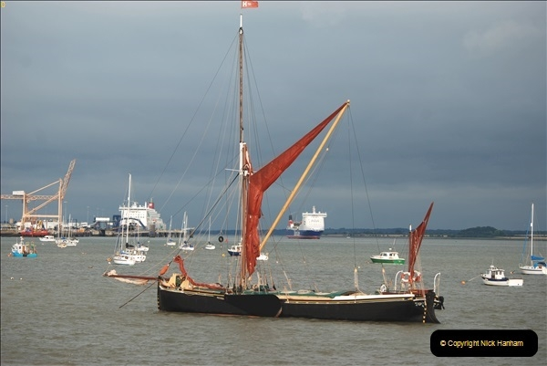 2018-08-14 to 22 Trinity House Vessel Patricia Harwich to Weymouth.  (235)235