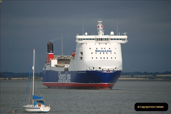 2018-08-14 to 22 Trinity House Vessel Patricia Harwich to Weymouth.  (237)237