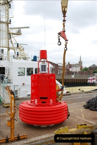 2018-08-14 to 22 Trinity House Vessel Patricia Harwich to Weymouth.  (274)274