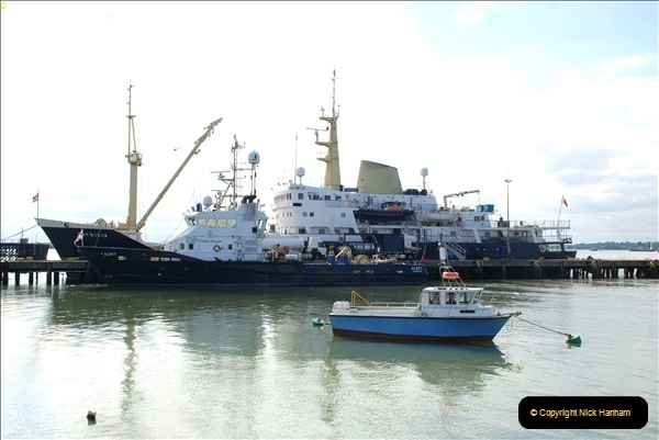 2018-08-14 to 22 Trinity House Vessel Patricia Harwich to Weymouth.  (28)028