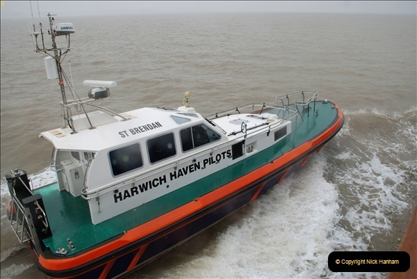 2018-08-14 to 22 Trinity House Vessel Patricia Harwich to Weymouth.  (316)316
