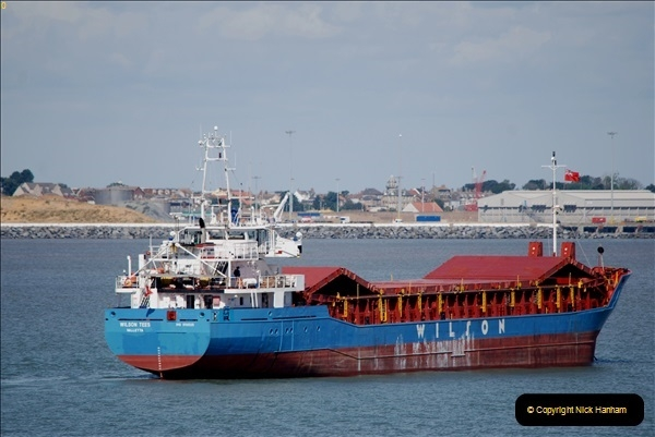 2018-08-14 to 22 Trinity House Vessel Patricia Harwich to Weymouth.  (429)429