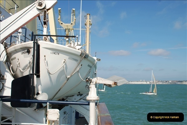 2018-08-14 to 22 Trinity House Vessel Patricia Harwich to Weymouth.  (579)579
