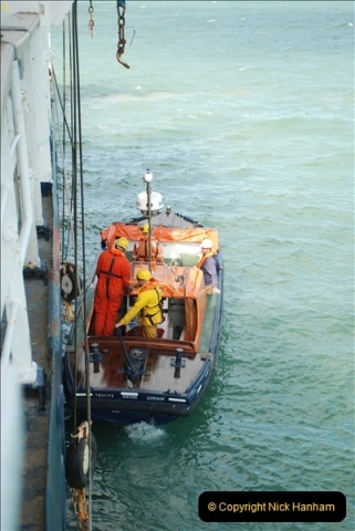 2018-08-14 to 22 Trinity House Vessel Patricia Harwich to Weymouth.  (590)590