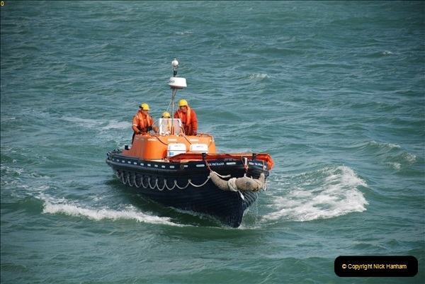 2018-08-14 to 22 Trinity House Vessel Patricia Harwich to Weymouth.  (594)594