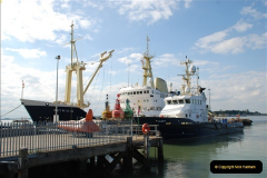 2018-08-14 to 22 Trinity House Vessel Patricia Harwich to Weymouth.  (27)027