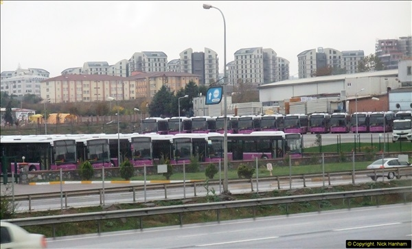 2013-10-17 to 18 London to Istanbul, Turkey.  (18)018