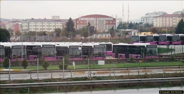2013-10-17 to 18 London to Istanbul, Turkey.  (19)019