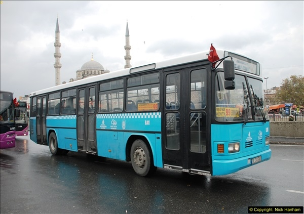 2013-10-17 to 18 London to Istanbul, Turkey.  (331)331