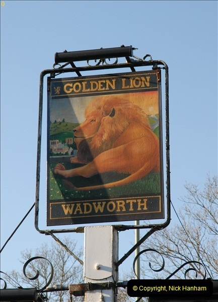 2012-12-10 The Golden Lion, Winchester, Hampshire.  (1)030