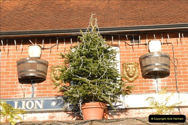 2012-12-10 The Golden Lion, Winchester, Hampshire.  (3)032