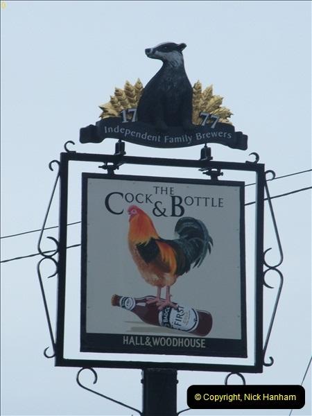 2013-01-21 The Cock & Bottle, Morden, Dorset. (2)040