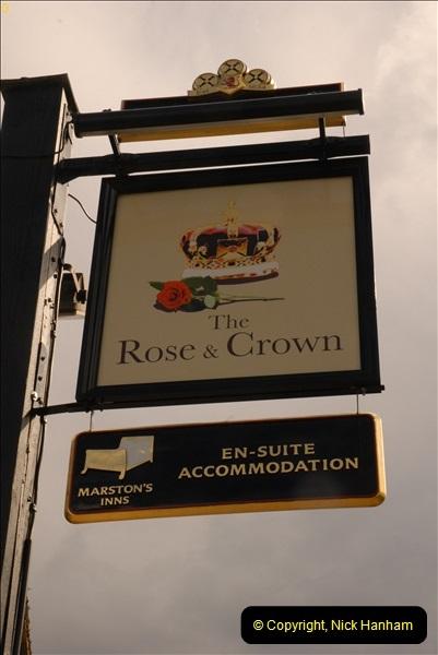 2013-04-26 The Rose & Crown, Brockenhurst, Hampshire.  (2)054