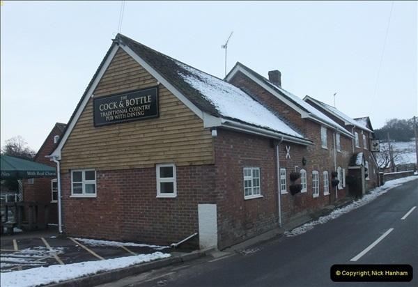 2013-01-21 The Cock & Bottle, Morden, Dorset. (1)039