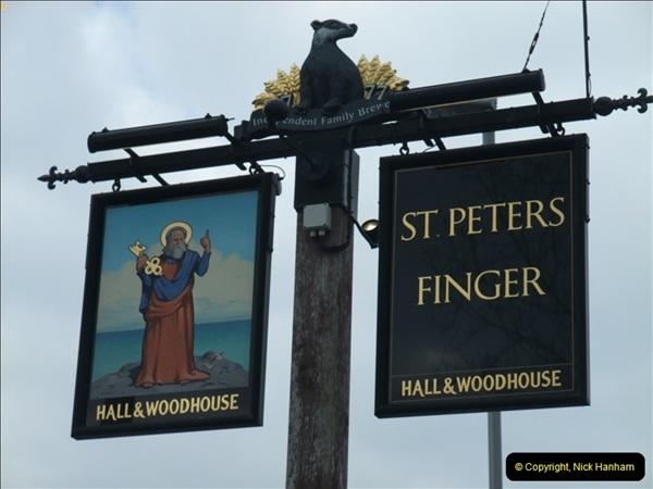 2013-02-21 The Saint Peter's Finger, Lytchett Minster, Poole, Dorset.  (1)047