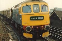 VSOE Trip Basingstoke to Torbay 02 April 1983