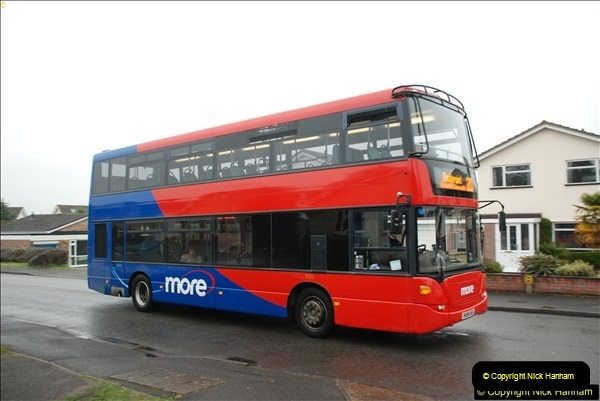 2018-04-09 First day of operation of the Route 20 by Wilts & Dorset.  (36)036
