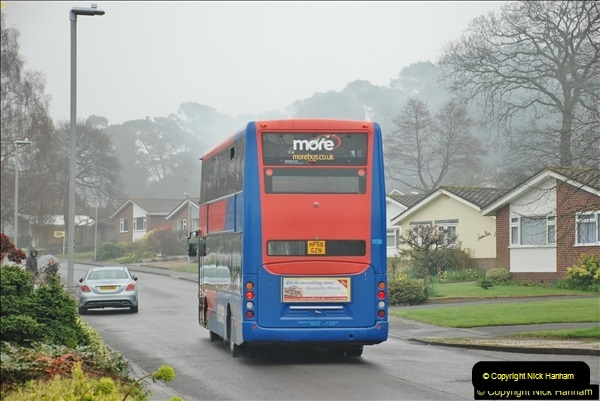 2018-04-09 First day of operation of the Route 20 by Wilts & Dorset.  (44)044