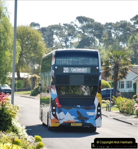 2018-05-05 Uni bus on our Route 20.  (3)097