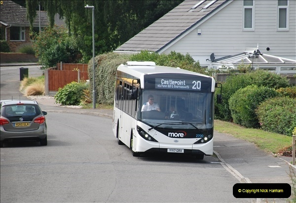 2018-09-01 The one and only white WD bus.  (2)100