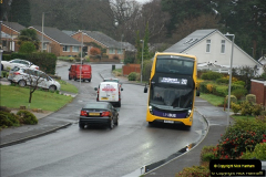 2018-04-09 First day of operation of the Route 20 by Wilts & Dorset.  (13)013