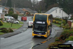 2018-04-09 First day of operation of the Route 20 by Wilts & Dorset.  (14)014
