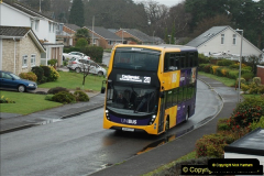 2018-04-09 First day of operation of the Route 20 by Wilts & Dorset.  (15)015