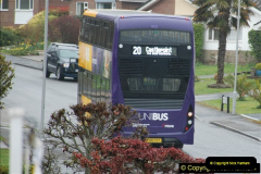 2018-04-09 First day of operation of the Route 20 by Wilts & Dorset.  (16)016