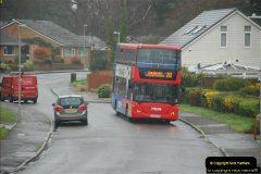 2018-04-09 First day of operation of the Route 20 by Wilts & Dorset.  (17)017