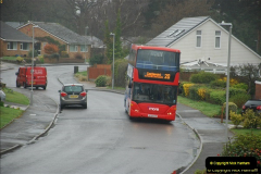 2018-04-09 First day of operation of the Route 20 by Wilts & Dorset.  (18)018